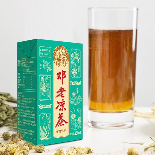 邓老凉茶250mL利乐植物饮料